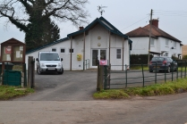 Front of Eastham Village Hall